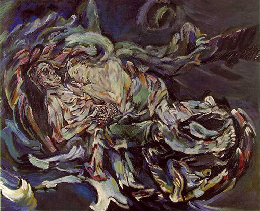 Bride of the Wind, אוסקר קוקושקה Oskar Kokoschka